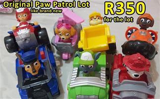 Original paw patrol set for sale