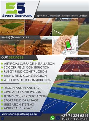 SPORTS SURFACING-Tennis/Netball Courts