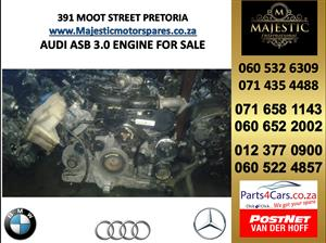 Audi ASB 3.0 engine for sale