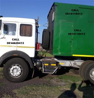 16 TON CLOSED BIN TRUCK WITH TRAILER TO START YOUR OWN BUSINESS