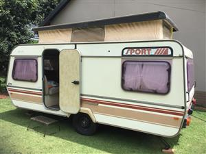 1987 Sprite Sport Caravan