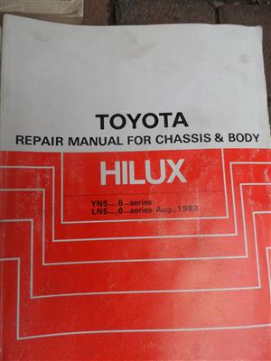 Toyota Owners Manuals for sale