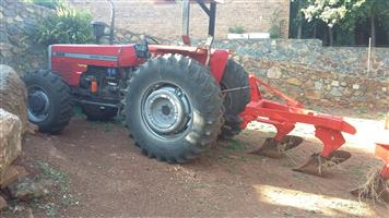 Tractor and Slasher for hire