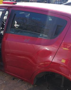 CHEV SONIC 1.6 2012 USED LEFT REAR DOOR FOR SALE