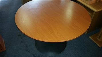 Cherry finish meeting table