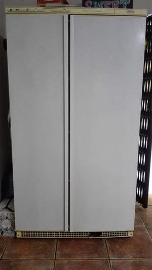 Double door fridge/freezer for sale