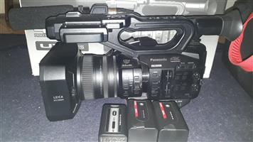 Panasonic AG-UX90 4K Professional Camcorder 3x 64g SD Cards 3X Swit Battery Packs Camera Bag