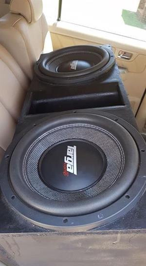 Targa comps and targa 12kz amp for sale