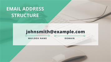 Personalized e-mails and free .co.za domain name