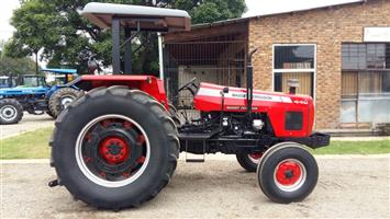 Red Massey Ferguson (MF) 440 61kW/80Hp 2x4 Pre-Owned Tractor