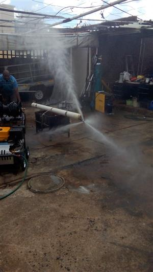 Water Jet Drain Cleaning Machines
