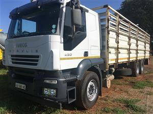 Iveco Stralis 430 Cattle Body