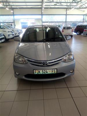 2012 Toyota Etios hatch ETIOS 1.5 Xi 5Dr