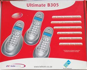 Cordless Phone Set of Three