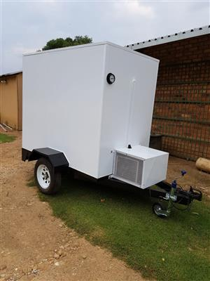 Mobile Fridge and Freezer Room