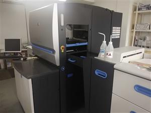 HP Indigo 5500 Digital Press - Incl Bid wash station, Davidson Chiller, HP external RIP