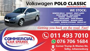 VW Polo Classic 08- Parts for sale