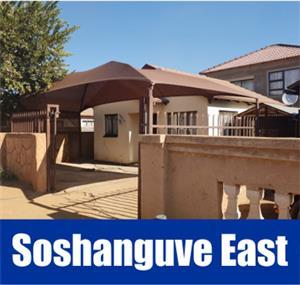 Soshanguve East. Modern house