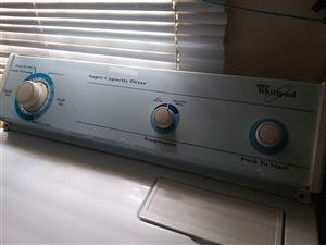 Whirlpool Super Capacity Dryer