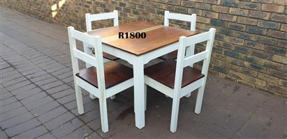 4 Seater Dining Suite (875x875x745)