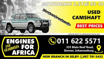 Used Mitsubishi Colt 4D56 2.5Tdi 93-10 Camshaft FOR SALE