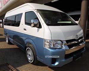 2007 Toyota Quantum LWB bus QUANTUM 2.8 GL 11 SEAT