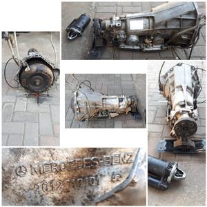 MERCEDES BENZ Gearbox 2012710101 190e Automatic with Starter