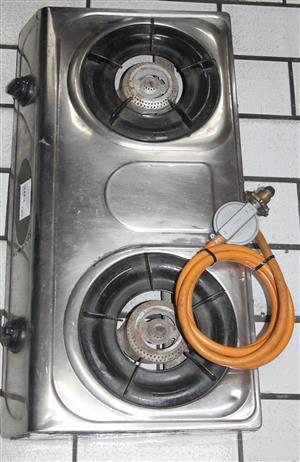 TOTAI 2 PLATE GAS STOVE W/ REGULATOR S039062A  #Rosettenvillepawnshop