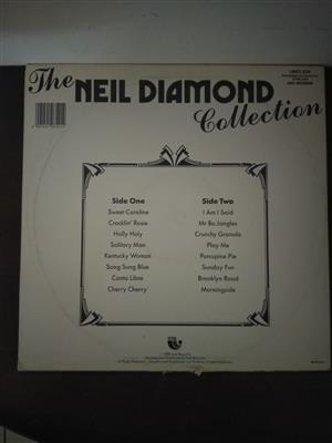 Collectors Neil Diamond Vinyl lp