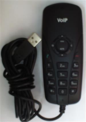 VoIP USB Phone for calls done via Internet