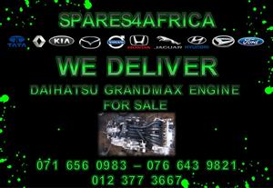 Daihatsu Grand max Engine For Sale