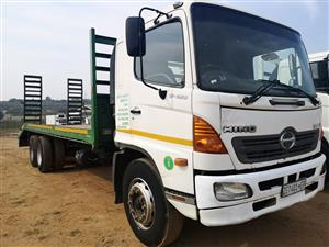 HINO500 -  15-258 - LOAD BODY AND FIXED RAMPS FOR SALE