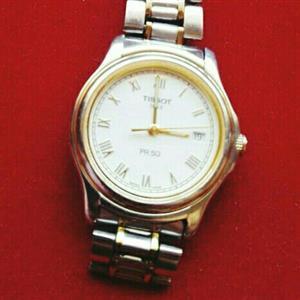 1 x Tissot 2 Tone Ladies watch