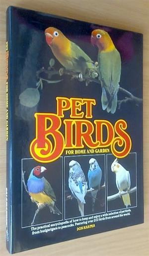 Pet birds for home and garden.