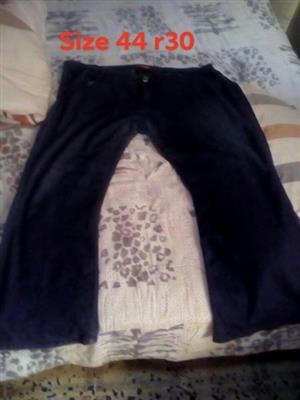 Black size 44 pants for sale