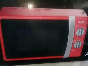 Aim red microwave