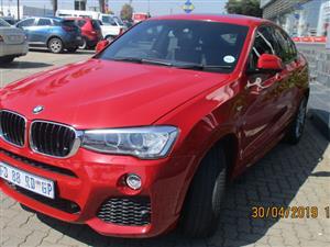 2015 BMW X4 xDRIVE20i M SPORT
