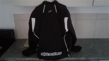 Black and white alpine stars jacket