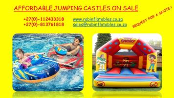 AFFORDABLE JUMPING CASTLES SALES