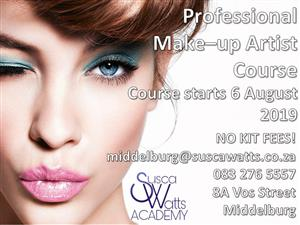 Professional Makeup Course at Susca Watts Academy Middelburg