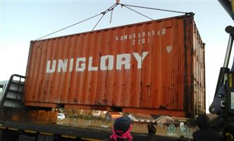 STORAGE CONTAINER AVILABLE FOR RENT AT R 1350 PER MONTH IN LENASIA EXT 13