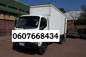 Moving trucks for furniture removals