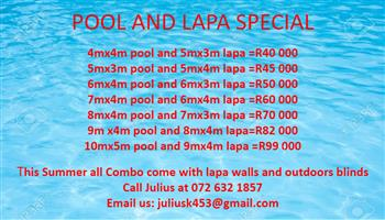 SUMMER POOL AND LAPA SPECIAL