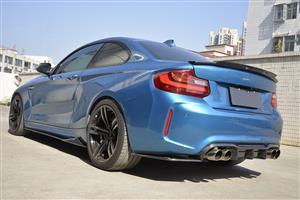 BMW 2 Series (F22/F87) Rear C74 Style Boot Spoiler – Carbon Fiber