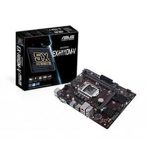 Asus Expedition EX-H110M-V/CSM LGA1151 Intel Kaby Lake Micro Micro-ATX Desktop Motherboard
