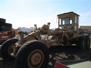 Graders, Rollers, Crushers, Containers, Telehandlers and other Heavy Machinery on Auction