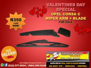 Opel Corsa C - Wiper Arm + Blade  FOR SALE