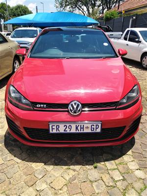 2013 VW Golf hatch GOLF VII GTi 2.0 TSI DSG