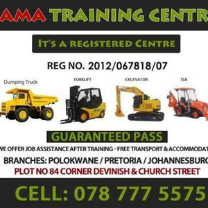 forklift training @ ama training centre