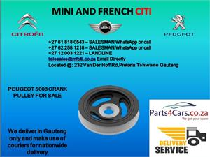 Peugeot 5008 crank pulley for sale